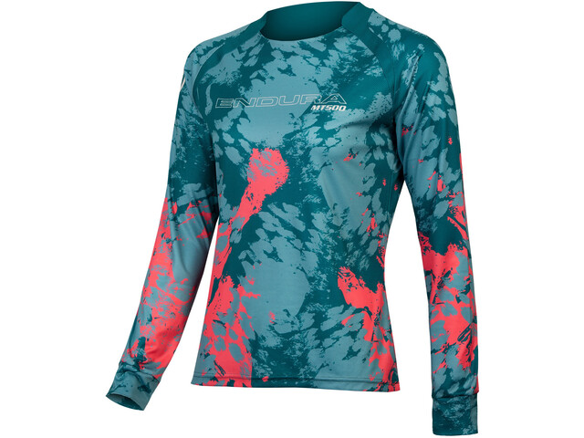 Endura MT500 Animo LTD Langarm Trikot Damen spruce green
